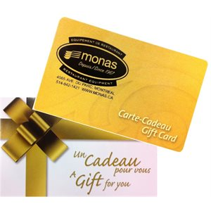 GIFT CERTIFICATE $50 (IN-STORE USE ONLY)
