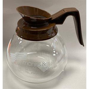 COFFEE SILEX BROWN HANDLE (MONAS LOGO)