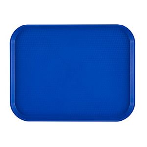"FAST FOOD TRAY 10""X14"" NAVY BLUE"