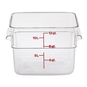 CONTAINER CLEAR 12 QT