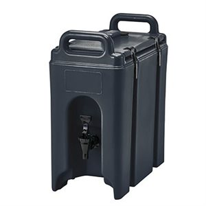 CAMTAINER 2.5 GAL BLACK PLASTIC