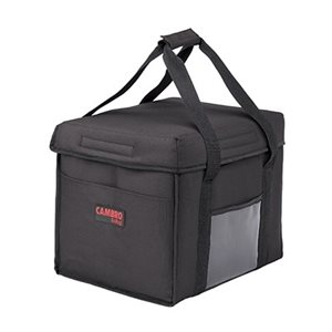 """DELIVERY BAG 15""""X12""""X12"""" BLACK"""