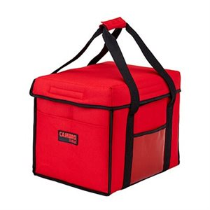 "DELIVERY BAG 15""X12""X12"" RED"