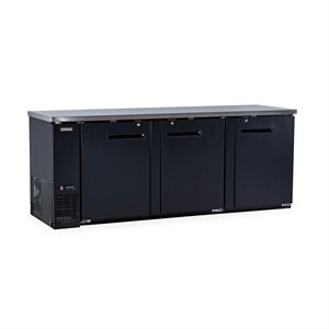 "NEW AIR BACK BAR BEER FRIDGE 90""X27""X36"""