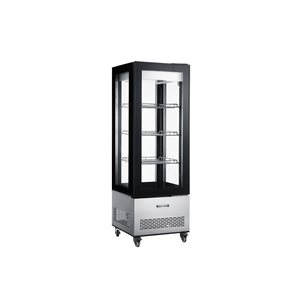 """NEW AIR VERTICAL GLASS REFRIGERATED DISPLAY CASE 26""""X26""""X75"""""""