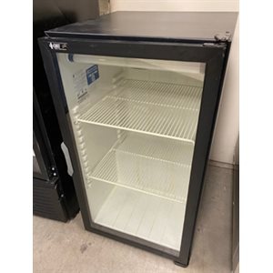 "REFRIGERATOR USED GLASS DOOR 21-3 / 8"" X 25"" X 38-1 / 8"""