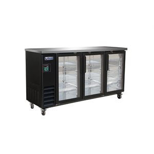 "IKON BEER COOLER 3 GLASS DOORS 73""W"