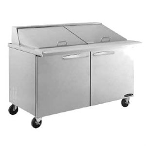 "KOOL-IT SALAD PREP TABLE 60"" MEGA-TOP"