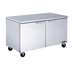 "KOOL-IT FREEZER 60"" (2) DOOR WORKTABLE"