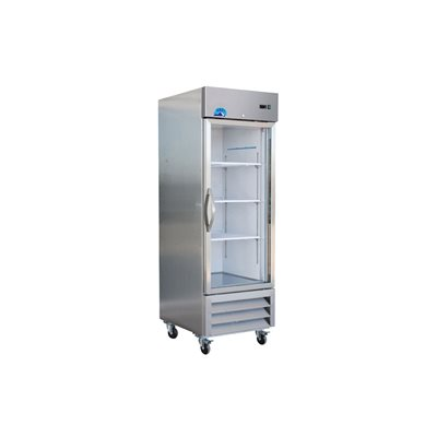 KRIO ONE GLASS DOOR REFRIGERATOR