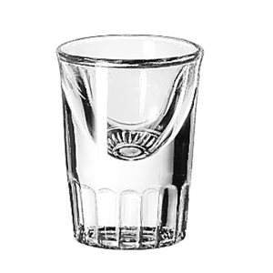 FLUTE A WHISKEY 1oz TALL