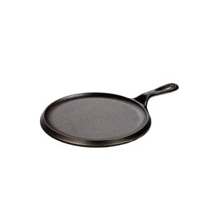 """LODGE ROUND GRIDDLE NEW STYLE 8"""""""