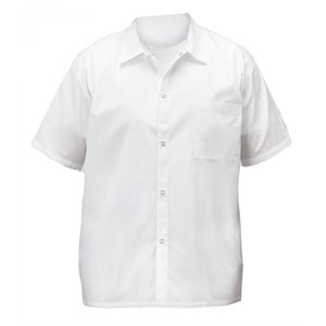 COOK'S SHIRT WHITE LARGE