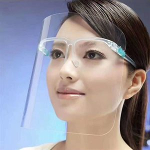 PROTECTIVE FACE SHIELD - GLASS STYLE