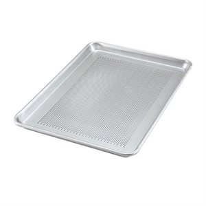 "ALUMINUM BUN PAN 13""x18"" PERFORATED"