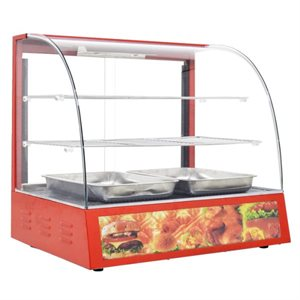 "DISPLAY WARMER 26"" WIDE RED 120V"