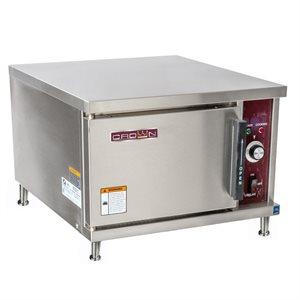 "STEAMCAN CONV.STEAMER COUNTER 208-3 - 3X 12""X20""X2.5"" CAP"