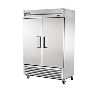 TRUE 2 DOOR REFRIGERATOR REACH-IN S / S DOORS, 54""