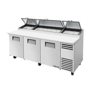 "TRUE PIZZA FRIDGE 93"", 3 DOORS S / S, 12 PANS"