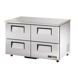 "TRUE UNDERCOUNTER REFRIGERATOR 48"" WITH 4 DRAWERS"