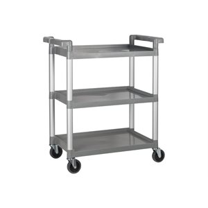 UTILITY CART 16x31 FLAKE GREY