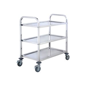 "STAINLESS STEEL CART 16""X27"""