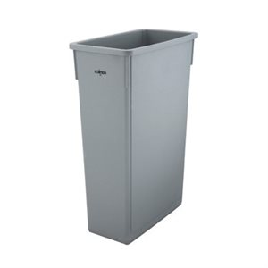 TRASH CAN SLENDER 23 GALLON GREY