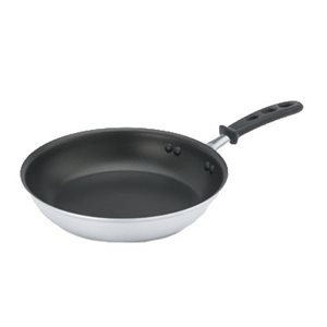 """ALUMINUM FRYING PAN 8"""" ANTI-STICK STEELCOAT3 SILICONE HNDL"""