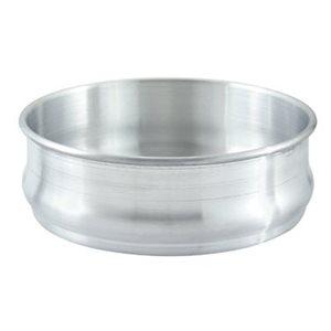 "DOUGH PROOFING PAN 8-3 / 4""D X 3""H ALUMINUM"