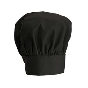"CHEF HAT BLACK 13"" H"