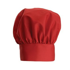 "CHEF HAT RED 13"" H"