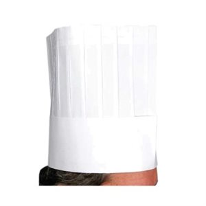 "DISPOSABLE CHEF HATS 9"" (10 / PK)"