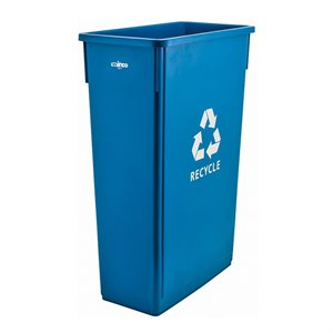 23 GALLON RECYCLE TRASH CAN BLUE