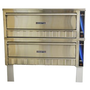 """ZESTO DECK OVEN GAS DOUBLE STACK 72x42"""",10.75""""H"""