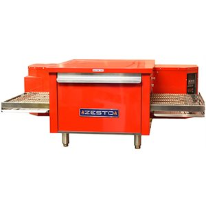 """ZESTO CONVEYOR OVEN ELECT COOKING CHAMBER 24"""" X 18"""" RED"""
